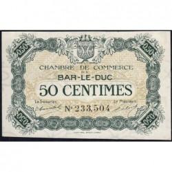 Bar-le-Duc - Pirot 19-7 - 50 centimes - Sans date (1917) - Etat : SPL