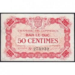 Bar-le-Duc - Pirot 19-9 - 50 centimes - 01/09/1917 - Etat : pr.NEUF