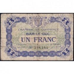 Bar-le-Duc - Pirot 19-11 - 1 franc - 01/09/1917 - Etat : B