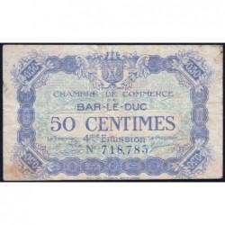 Bar-le-Duc - Pirot 19-13 - 50 centimes - 4me émission (1920) - Etat : TB-