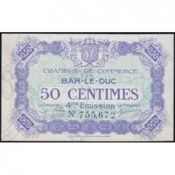 Bar-le-Duc - Pirot 19-13 - 50 centimes - 4me émission (1920) - Etat : NEUF