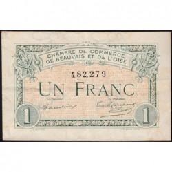 Beauvais - Pirot 22-2 - 1 franc - 02/06/1920 - Etat : TTB