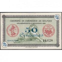 Belfort - Pirot 23-41a - 50 centimes - Série 115 - 04/11/1918 - Etat : SUP+