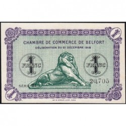 Belfort - Pirot 23-54 - 1 franc - Série 31 - 21/12/1918 - Etat : pr.NEUF