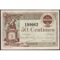Bergerac - Pirot 24-24 - 50 centimes - 15/06/1917 - Etat : SUP