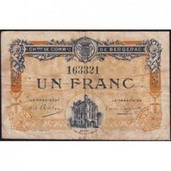 Bergerac - Pirot 24-33 - 1 franc - 05/08/1918 - Etat : B+