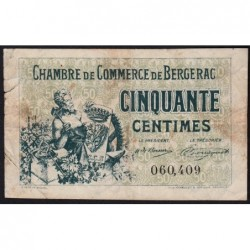 Bergerac - Pirot 24-38 - 50 centimes - 10/09/1921 - Etat : TB-
