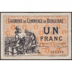 Bergerac - Pirot 24-40 - 1 franc - 10/09/1921 - Etat : TTB