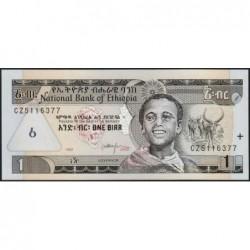 Ethiopie - Pick 46b - 1 birr - Série CZ - 2000 - Etat : NEUF