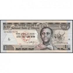 Ethiopie - Pick 46d - 1 birr - Série GK - 2006 - Etat : NEUF