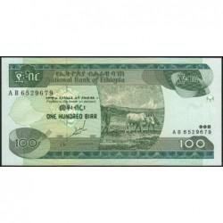 Ethiopie - Pick 50a - 100 birr - Série AB - 1997 - Etat : NEUF