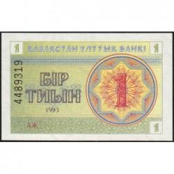 Kazakhstan - Pick 1b - 1 tiyn - 1993 - Etat : NEUF