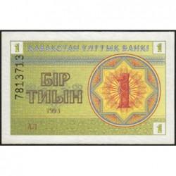 Kazakhstan - Pick 1d - 1 tiyn - 1993 - Etat : NEUF
