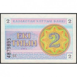 Kazakhstan - Pick 2a - 2 tiyn - 1993 - Etat : NEUF