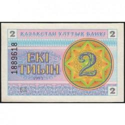 Kazakhstan - Pick 2d - 2 tiyn - 1993 - Etat : NEUF
