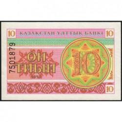 Kazakhstan - Pick 4b - 10 tiyn - 1993 - Etat : NEUF