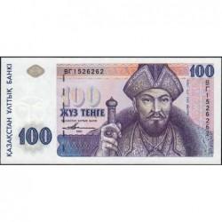Kazakhstan - Pick 13c - 100 tenge - 1993 (2001) - Etat : NEUF