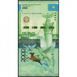 Kazakhstan - Pick 41_1 - 2'000 tenge - 2012 - Etat : NEUF