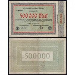 Allemagne - Notgeld - Aachen - 500'000 mark - Sans série - 20/07/1923 - Etat : TB+