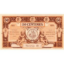 Aurillac (Cantal) - Pirot 16-1a - 50 centimes - Série B - 1915 - Etat : NEUF