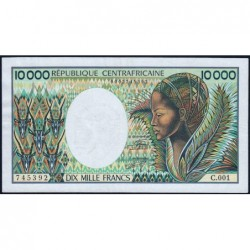 Centrafrique - Pick 13_2 - 10'000 francs - 1983 - Etat : TTB