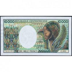 Centrafrique - Pick 13_2 - 10'000 francs - Série C.001 - 1983 - Etat : TTB