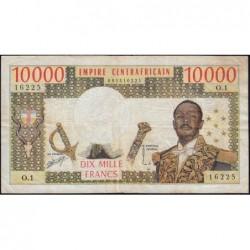 Centrafrique - Pick 8 - 10'000 francs - Série O.1 - 1978 - Etat : TB+