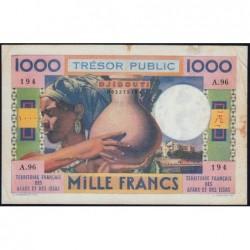 Djibouti - Pick 32 - 1'000 francs - 1974 - Etat : TB+