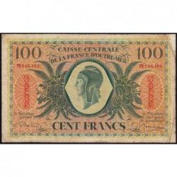 Guadeloupe - France Outre-Mer - Pick 29 - 100 francs - Série PU - 1944 - Etat : TB-