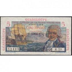 Guadeloupe - France Outre-Mer - Pick 31 - 5 francs - Série R.23 - 1946 - Etat : TTB