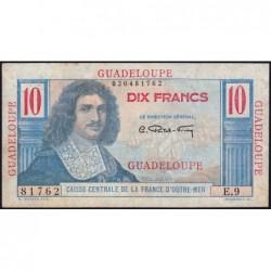 Guadeloupe - France Outre-Mer - Pick 32 - 10 francs - Série E.9 - 1946 - Etat : TTB-