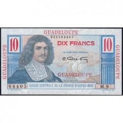 Guadeloupe - France Outre-Mer - Pick 32 - 10 francs - Série M.9 - 1946 - Etat : NEUF