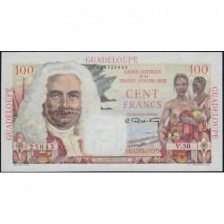 Guadeloupe - France Outre-Mer - Pick 35 - 100 francs - Série V.50 - 1946 - Etat : SUP+