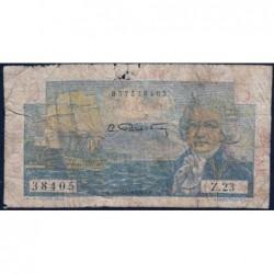 Guyane Française - France Outre-Mer - Pick 19 - 5 francs - Série Z.23 - 1946 - Etat : AB