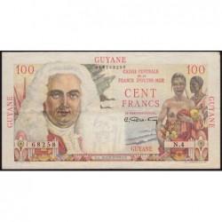 Guyane Française - France Outre-Mer - Pick 23 - 100 francs - Série N.4 - 1946 - Etat : SUP