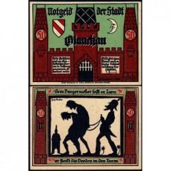 Allemagne - Notgeld - Glauchau - 50 pfennig - Type 6 - 01/05/1921 - Etat : pr.NEUF