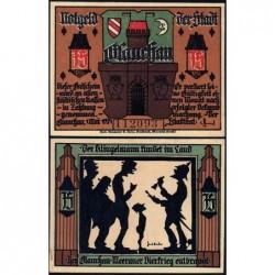 Allemagne - Notgeld - Glauchau - 75 pfennig - Type 1 - 01/05/1921 - Etat : pr.NEUF