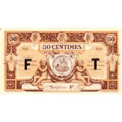 Aurillac (Cantal) - Pirot 16-7a - Série F - 50 centimes - 1915 - Etat : NEUF