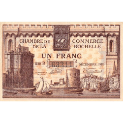 La Rochelle - Pirot 66-03-B - 1 franc - Etat : TTB