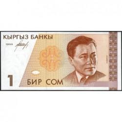 Kirghizistan - Pick 7- 1 som - série AA - 1994 - Etat : pr.NEUF