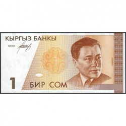 Kirghizistan - Pick 7- 1 som - série AB - 1994 - Etat : NEUF