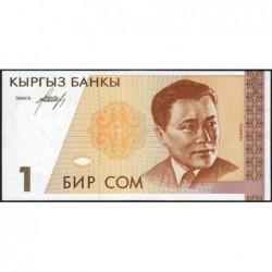Kirghizistan - Pick 7- 1 som - série AF - 1994 - Etat : NEUF