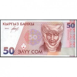 Kirghizistan - Pick 11 - 50 som - série AE - 1994 - Etat : NEUF