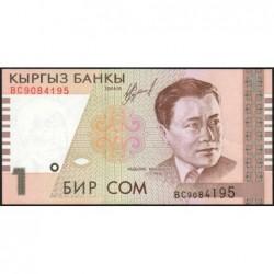 Kirghizistan - Pick 15 - 1 som - série BC  - 1999 - Etat : NEUF