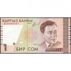 Kirghizistan - Pick 15 - 1 som - série BG  - 1999 - Etat : NEUF