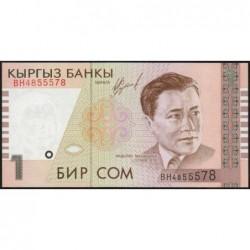 Kirghizistan - Pick 15 - 1 som - série BH  - 1999 - Etat : NEUF