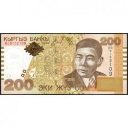 Kirghizistan - Pick 22 - 200 som - série BC - 2004 - Etat : NEUF