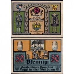 Allemagne - Notgeld - Gräfenthal - 50 pfennig - 10/1921 - Etat : SPL