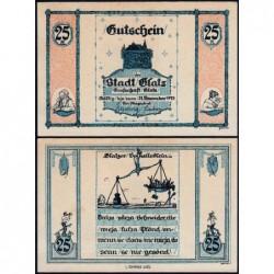 Pologne - Notgeld - Glatz (Klodzko) - 25 pfennig - 1921 - Etat : SPL+