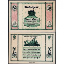 Pologne - Notgeld - Glatz (Klodzko) - 50 pfennig - 1921 - Etat : SPL+